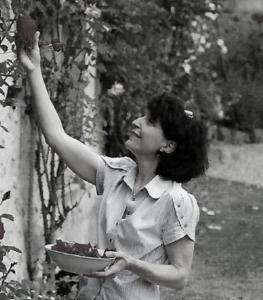 Anna Iannaccone récolte fruits