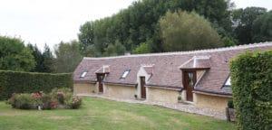Extérieur accès aux chambres d'hôte Moulin de Gémages