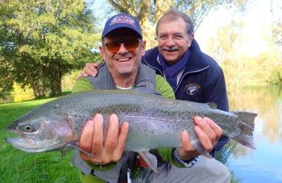 Trophée poisson pêche mouche