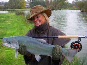 Truite bleue sauvage parcours de pêche