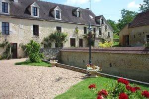 Extérieurs de la propriété Moulin de Gémages