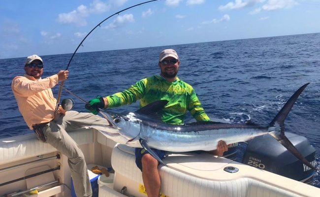 Voyage de pêche poisson haute mer